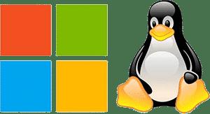 Logo Windows et Linux